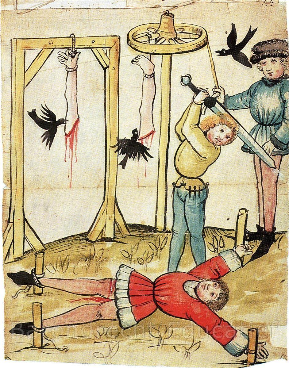 Image result for middeleeuwen doodstraf